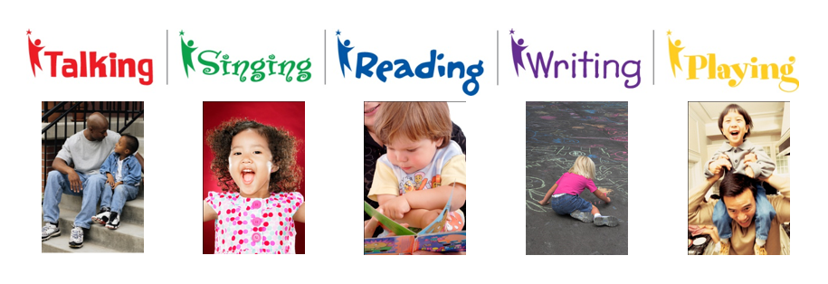 5 literacy activities illustrated