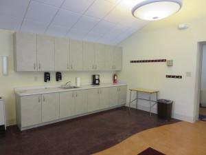 Dietz Community Room kitchenette